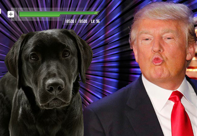 Donald Trump - First president without a dog in over 100 years, SAD!