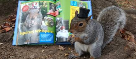 Sneezy the Penn State Squirrel has More Shool Spirit Than You'll Ever Have
