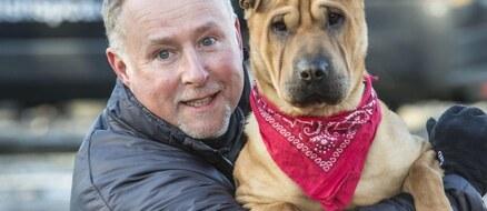 Viral dog abandoned at train station, now trains for SPCA marathons