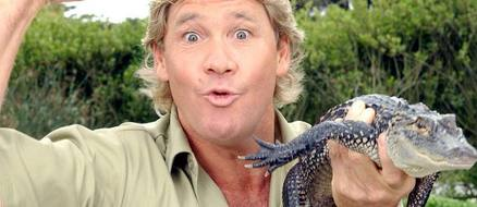 Crocodile Hunter Steve Irwin gets star on Hollywood Walk of Fame