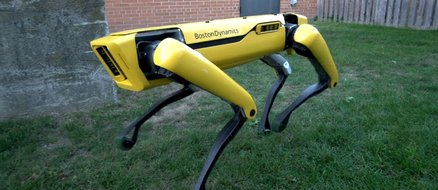 Allergic to dogs and can't wait for the robot apocalypse? Robot dogs available next year!