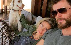 Cavoodle Elsa Pataky Chris Hemsworth