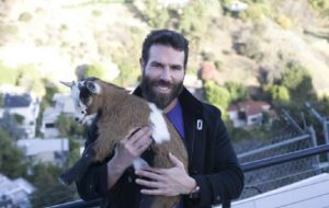 Dan Bilzerian and His Goat Zeus