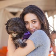 Emmy Rossum's pet Cinnamon