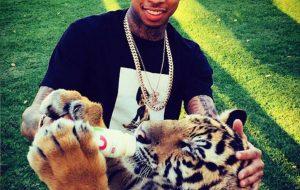 Maverick the Tiger and Tyga