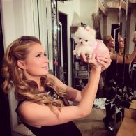 Paris Hilton's pet Princess Paris Jr.