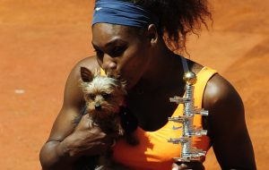 Serena Williams and Chip