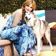 Bella Thorne's pet Voodoo Thorne