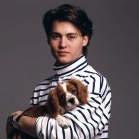 Young Johnny Depp - Dog
