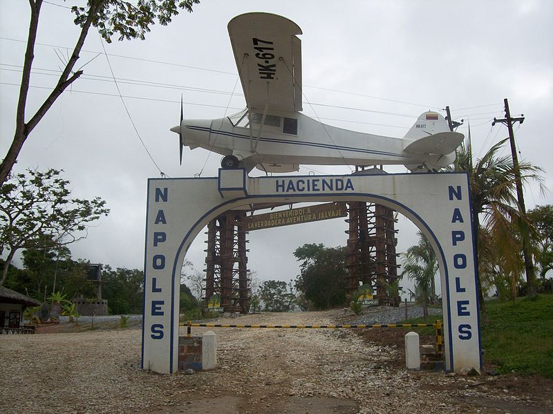 Entrance to Pablo Escobar Hacienda Nápoles
