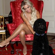 Beyonce and the Obama's Dog