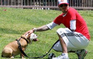 David Beckham recovers from Achilles with Coco
