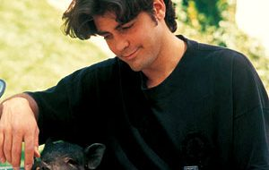 George Clooney and Pet Pig