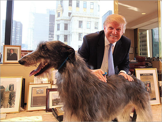 "Donald Trump with ""Hickory Best in Show"" - 2011"