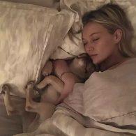 Hilary Duff sleeping with Beau