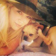 Hilary Duff with Beau