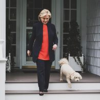 Bill Clinton's pet Maisie