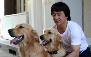 Jackie Chan and Jones and JJ Photo