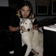 Jared Leto's pet Sky