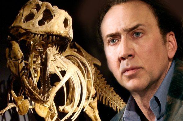 Nicolas Cage - Dinosaur Skull