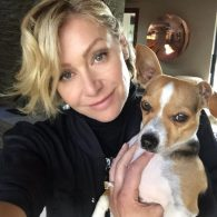 Ellen Degeneres' pet Auggie