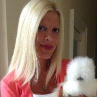 Tori Spelling's pet Coco Chanel