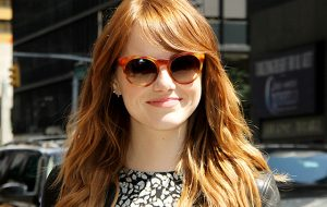 Emma Stone in Sunglasses
