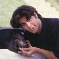 George Clooney's pet Max