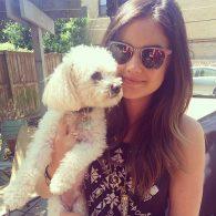 Lucy Hale's pet Elvis