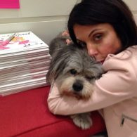 Bethenny Frankel's pet Cookie