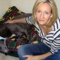 J.K. Rowling's pet Sapphire