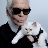 Karl Lagerfeld's pet Choupette