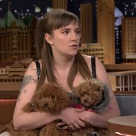 Lena Dunham's pet Susan Simmons and Karen DiMango