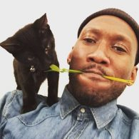 Mahershala Ali's pet Nas