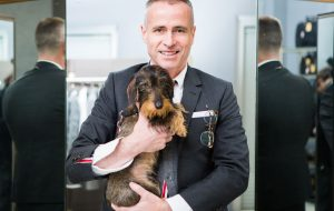Thom Browne - Hector - Long Haired Dachshund