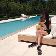 Vera Wang's pet Lola