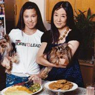 Vera Wang's pet Sam