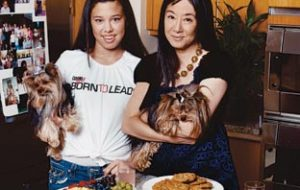 Vera Wang - Sam and her daughter