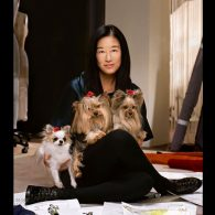 Vera Wang's pet Lucy