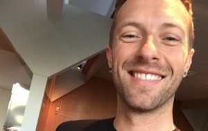 Chris Martin - Coldplay - Instagram