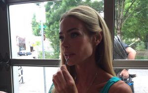 Denise Richards - instagram- on set