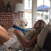 Denise Richards' pet Tucker