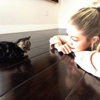 Gigi Hadid's pet Cleo