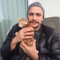 James Franco's pet Sammy