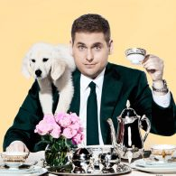 Jonah Hill's pet Golden Retriver