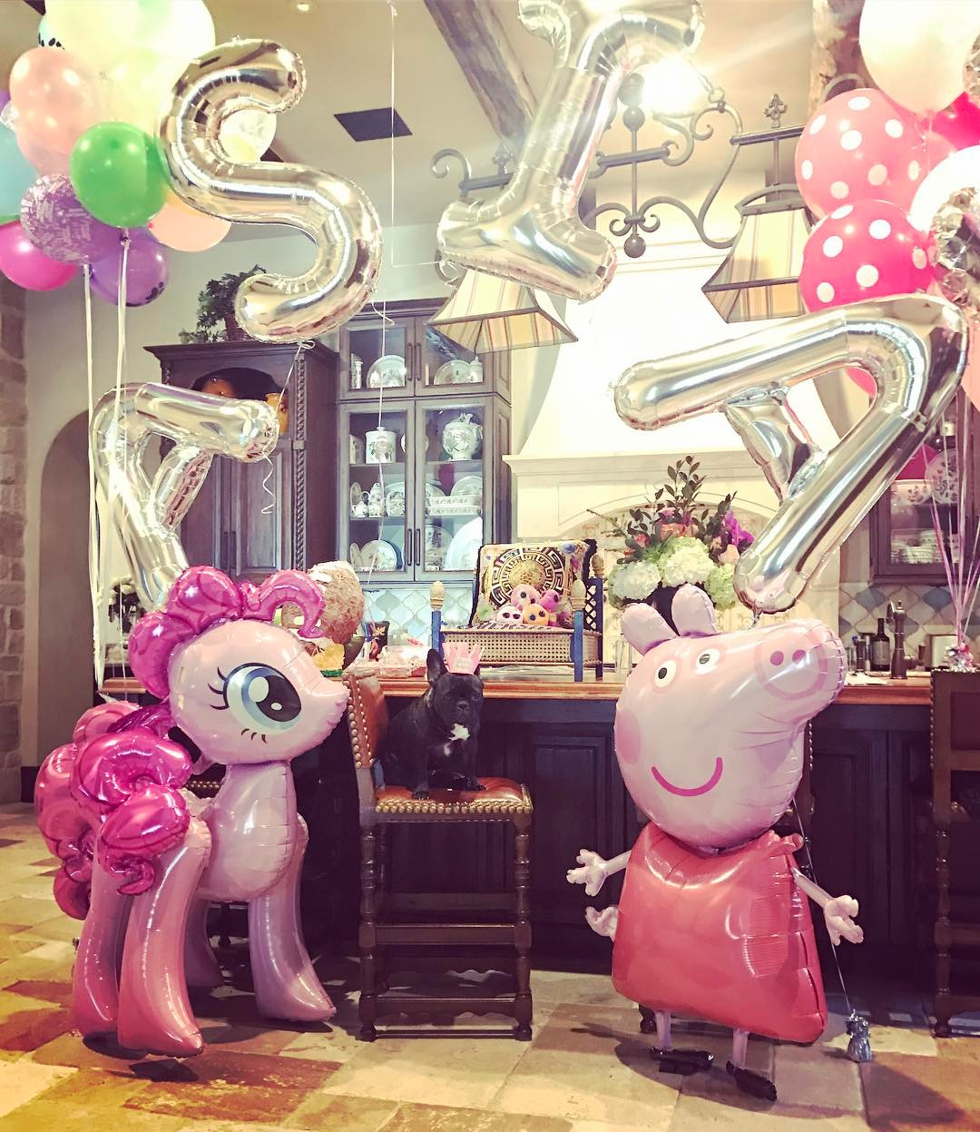 Lady Gaga - Miss Asia Kinney celebrates her 3rd birthday!