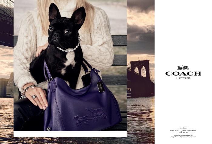Lady Gaga - Miss Asia Kinney Coach model