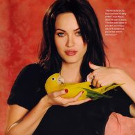 Megan Fox's pet Bowie and Roxy