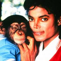 Michael Jackson's pet Bubbles