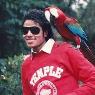 Michael Jackson's pet Rikki
